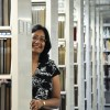 Vinaya L. Tripuraneni was appointed last month as University Librarian. Tripuraneni served as interim University Librarian at the Wilson Library for the past two years. Tripuraneni completed her master of science in library science at Drexel University in 1989. She is currently working on her dissertation for a doctorate in organizational leadership at the University. / photo by Erin Maxwell
