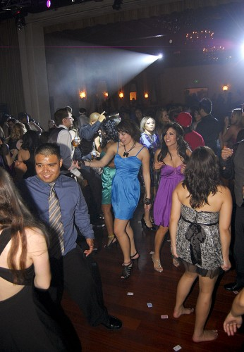 University of La Verne students flocked to the dance floor Friday at the Padua Hills Theater for the Winter Formal. Mad Hatter's Ball was the theme as decks of cards were strewn across the tables and walls, as well as given for favors. The DJ cranked out the jams from 7 p.m. to midnight, keeping the crowd moving and shaking from start to finish./ photo by Christpher Guzman