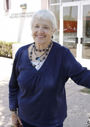 One of Peggy Redman's greatest passions has been to prepare teachers to work with children in today's world. Redman is an alumna of the University of La Verne, joined the staff in 1983 and served as director of alumni while earning her doctorate in education, which she completed in 1992. She then served as director of education and professor of education until 2009. She now holds the LaFetra Endowed Chair for Excellence in Teaching and Service. / photo by Rafael Anguiano