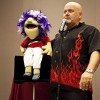 Ventriloquist Ian Varella, and his puppet friend Alfred provided some laughs in the Campus Center Ball Room in the CAB event on Wednesday night. Along with Alfred, Varella brought some other puppets along to entertain students. /photo by Garrett Gutierrez