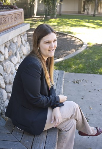 Corrine Hinton is the new director of the University of La Verne's Academic Success Center. The ASC provides tutoring for students in many different subjects and also provides students with academic advising about their education at La Verne. / photo by Jakeh Landrum