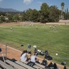 The women's soccer team will hold practices this semester at Lutheran High School on Fruit Street, just north of Foothill Boulevard. Practices are held Monday through Thursday afternoons. Head coach Wendy Zwissler said the Lutheran High field is a great place to practice. / photo by Candice Salazar