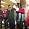 """Santa Claus came to town during Bonita High School's Chamber Singers performance of """"Jingle Bells."""" Many merry citizens attended the annual tree lighting ceremony at La Verne's City Hall on Monday. / photo by Brittney Slater-Shew"""