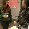 "Freshman Cindy Ontiveros and junior Ashley Cole enjoy non-alcoholic piña colada drinks in the ""Safe Not Sloshed"" event in the Campus Center Ballroom on March 28. The event was sponsored by the Campus Activities Board and Iota Delta Sorority. Students were invited to participate in activities without alcohol and were encouraged to sign pledges to not drink and drive. / photo by Candice Salazar"