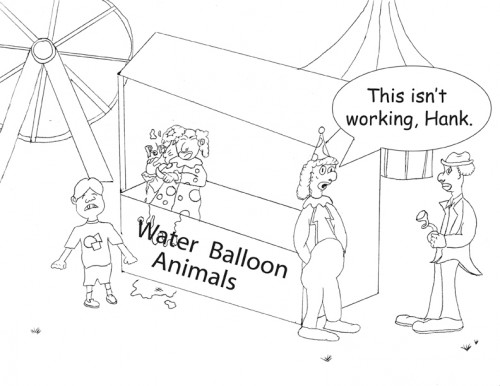 Editorial cartoon by Jason D. Cox
