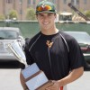 Senior outfielder Jacob Ludvik completed his second year playing for the University's baseball team. After his transfer from Citrus College, he made a quick impact on the baseball team and helped the team win its 20th Southern California Intercol­legiate Athletic Conference title. / photo by Debora Escobar