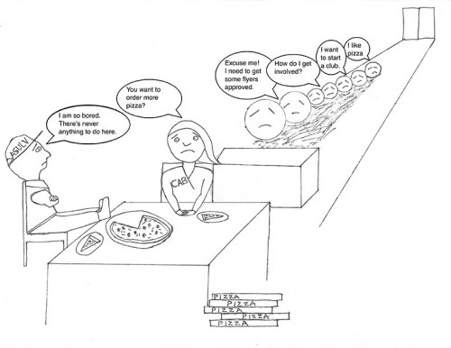 Editorial cartoon by Brian Velez