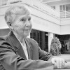 Sister Mary Dennis Peters was a reference librarian in Wilson Library for 20 years. This photo was taken in 2004./ File Photo by Caroline Franke