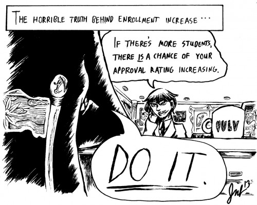 Editorial Cartoon by Jacob Bogdanoff