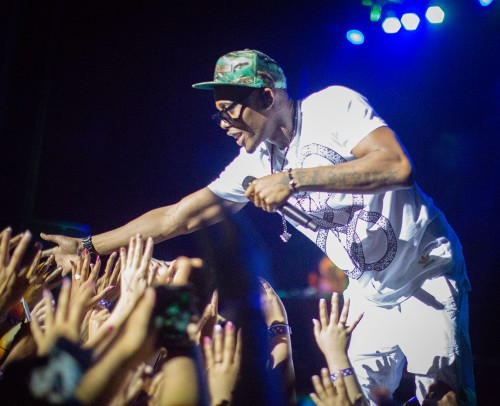"B.o.B performed at the fourth annual LaVernapalooza on May 2 at the Fox Theater in Pomona. The concert was opened by DJ Earworm and Mike Posner. B.o.B's latest album, ""Strange Clouds,"" was released last year. / photo by Nicole Ambrose"
