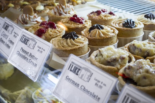 The I Like Pie Bakeshop offers a variety of mini pies with flavors ranging from cherry blueberry to peanut butter chocolate cream and even gluten-free options. The shop is located in the Claremont Village off Indian Hill Blvd.