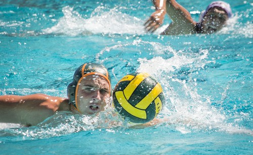 Senior attacker Bosko Dimic advances toward the goal during the third quarter of the game against Mt. San Antonio College at Las Flores Park on Saturday. La Verne lost the game with a final score of 10-6. / photo by Jasmin Miranda