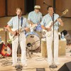 """The Beach Boys tribute band, """"Catch A Wave,"""" gives the Sundays at the Morgan concert series a blast from the past this weekend. The 1960s Southern California surf sound blasted through the speakers courtesy of lead singer Joel Dalton, bassist Glenn Henry, lead guitarist Richard Gibson, rhythm guitarist Chris Hillard and drummer Gene Martin. Catch a Wave has traveled all over the world, including headlining on cruise ships and performances at Disney's California Adventure. / photo by Hunter Cole"""