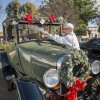 James F. Skalicky, 67, and wife Lan Skalicky, 66, enter their 1927 Ford Model T in Saturday's car show in downtown La Verne. Skalicky is a clinical psychologist in Glendora. He is also a professor of psychology at Citrus College. Skalicky is a Christmas enthusiast, and plans to decorate the back of his car with Christmas lights. / photo by Uyen Bui