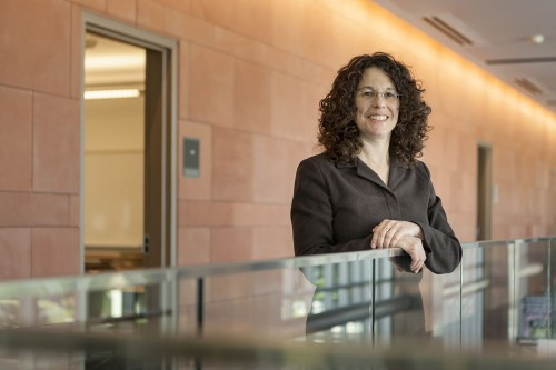 Mindy Baggish is the new assistant dean of student career support and employer relations. / photo by Keenan Gilson