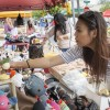 A variety of vendors set up their posts every week for the La Verne Farmers Market. Some vendors sell typical items, such as food and candles, but some are not so typical. Nara Aguilar sells unique handmade products at her stand, ranging from voodoo dolls to coin purses. The market and family festival is open from 5 p.m. to 9 p.m. every Thursday in Downtown La Verne and will continue to attract farmers market enthusiasts through September. / photo by Veronica Orozco