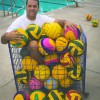 William Rodriguez is the new head coach for the men's and women's water polo teams. Before being hired, Rodriguez was an assistant coach at Pepperdine, where he helped the Waves earn a top-10 national ranking in 2006 and 2012, as the co-head coach. He also earned two national championships as the assistant coach for USC in 2010 and 2012. / photo by Julian Mininsohn