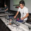 Dozens of students packed the Campus Center Ballroom Tuesday night to listen and dance to music played by DJ Santana, senior broadcasting major Steven Santana; DJ Rvysprvy, junior computer science major Raymond C. Gonzales, and DJ Pablo Macia, a senior radio broadcast major, at the EDGreek event. The event, presented by Phi Delta Theta, pitted the DJs against one another, as they took turns taking turns spinning and competing for the crowd's admiration. The event was free for all ULV students. / photo by Daniel Torres