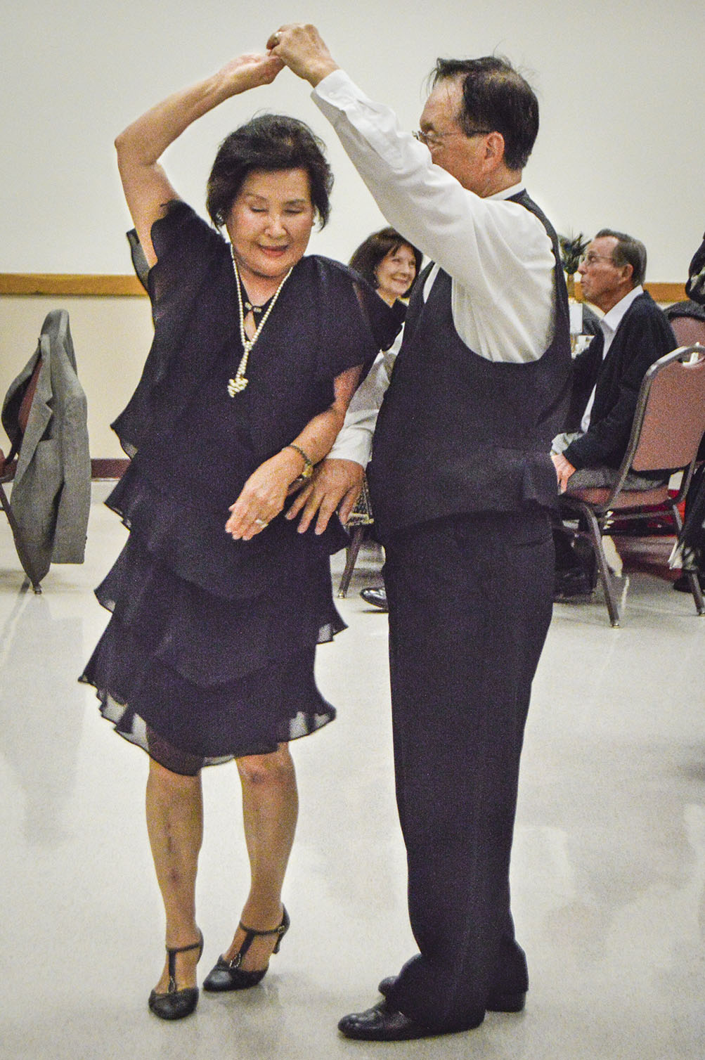 926405c645d Walnut residents Lisa and David Oh put their 15 years of dance lessons to  the test at the Senior Dinner Dance Extravaganza held Sunday at the La  Verne ...