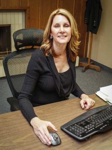 Selected from a field of 60 candidates, Teri Baker was chosen to undertake the position as assistant to the La Verne City Manager, Bob Russi, succeeding Jeannette Vagnozzi. Baker is an alumna of the University of Redlands and Cal State San Bernardino. Baker started her first day at the city of La Verne Nov. 16. She has worked for the cities of San Bernardino and Huntington Beach. / photo by Chelsey Morrison