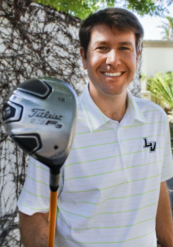 Eric Riehle returns La Verne as the new head coach for the men and women's golf team, after spending the last three seasons at UCRiverside. Riehle was named the 2011 Division III West Region Coach of the Year for his success with the ULV men's golf team. / photo by Brooke Grasso