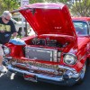 Rick Negley of Azusa wipes down his 1957 Chevy Bel Air at the annual La Verne Cool Cruise Car Saturday in downtown La Verne. The event featured food, live music and classic cars. / photo by Kendra Craighead