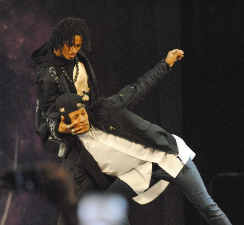 Professionally known as Les Twins, identical twin brothers Larry and Laurent Bourgeois perform at World of Dance 2016, a worldwide dance competition, on Saturday at the Fairplex. Les Twins started dancing hip-hop with an emphasis on isolation, or the movement of one part of the body independent of the rest, when they were just 4. They now perform with artists including Beyoncé, Missy Elliot and Big Sean. The next stop on the World of Dance Tour is Shanghai. See story on page 8./ photo by Nadira Fatah