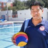 Former La Verne water polo player and head coach Alex La served as a videographer for the U.S. Men's Olympic Water Polo Team this summer in the 2016 Rio Olympics. Using performance analysis software such as SportsCode, La can record a complete 45-minute match and have any aspect of the match available for review at the click of a button. / photo by Michael Savall