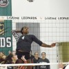 Senior Kelsi Robinson scores another point for the Leopards Saturday against Neumann. Robinson and her teammates beat the Knights, 3-0, at Frantz Athletic Court. The woman's volleyball team meets Washington State today in Thousand Oaks. / photo by Janelle Kluz