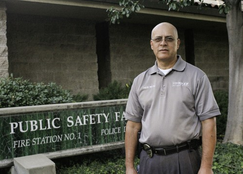 After serving the community for over 30 years, La Verne Police Department Capt. Nick Paz will be sworn in as police chief Jan. 1. As police chief, Paz said he plans to strengthen the communication between the community and the department and continue to build upon the foundation the current chief of police, Scott Pickwith, has made. / photo by Taylor Bolanos