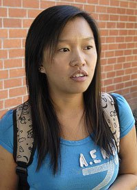 Sophomore Lucie Leung
