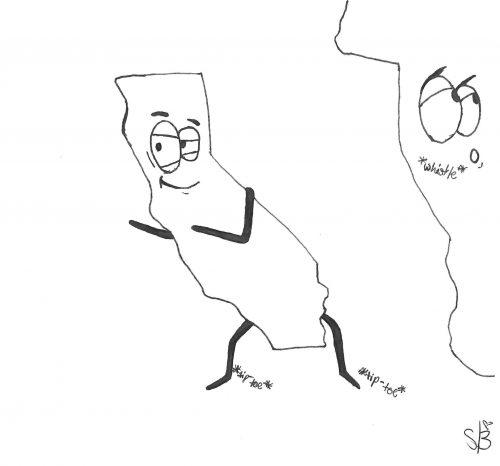 editorial cartoon by Sarah Borer