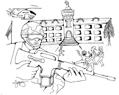 editorial cartoon by Christian A. Lopez