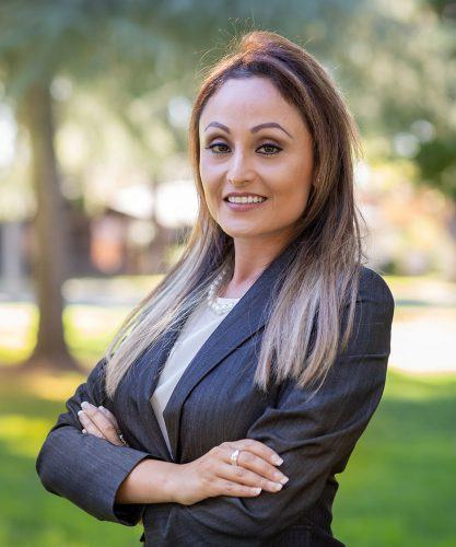 Alumna Julia Ruedas has been elected as a governing board member of the El Monte City School District and will be sworn in Monday. She said she plans to make decisions on behalf of the district that can positively impact the academic success of the students. Ruedas received her master's in public administration from the University of La Verne in 2018. / photo by Celeste Drake