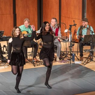 "Award winning dancers Tasha and Julia Straszewski perform traditional Irish dances on Sunday in Morgan Auditorium. The dancers were featured in ""Spirit of Ireland,"" featuring Michael Ryan and Friends, as part of the Sundays at the Morgan monthly showcase of music. The next event, Best of La Verne, is on May 5."