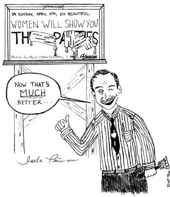 editorial cartoon by Isela Peña