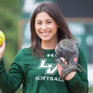 Business Administration major Carly Condon graduated in January of 2019 from the University of La Verne. Condon played as an outfielder with the university's softball team for all four years of her eligibility.