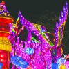 The Chinese Lantern Festival began on November 1st and will be continuing until January 5th featuring Chinese Lanterns, food, music and entertainment.