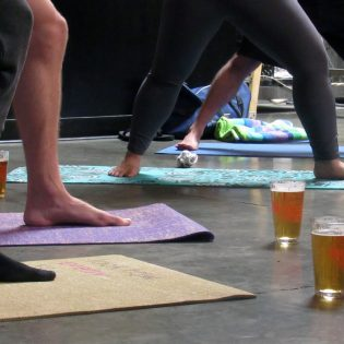 The unlikely combination of yoga and beer have managed to settle together at the La Verne Brewing Company. Every Sunday at 11 a.m., yoga enthusiasts participate in Bend, Breathe and Brew, a series of poses and stretches where the brewery serves beers during the whole lesson. By end of the lesson, participants feel either zen or lightheaded.