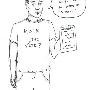 / editorial cartoon by Danielle De Luna