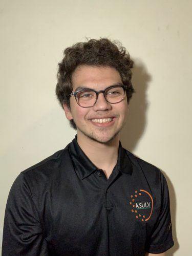 Ryan Konrad, incoming ASULV vice president