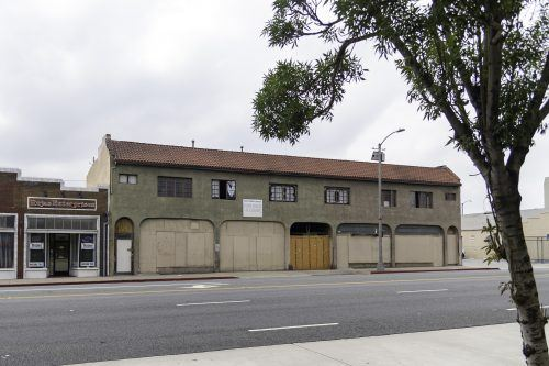 The building on the land acquired by the University of La Verne in Ontario could house the new College of Health or the Randall Lewis Center for Innovation and Entrepreneurship. The site is located at 214 E. Holt Blvd. in Ontario, less than a mile from the site of the ULV College of Law. / photo by Darcelle Jones-Wesley